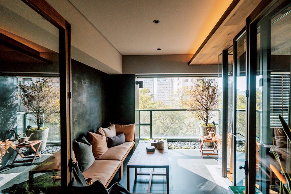 實見空間設計創辦人游思維的家!宛如現代沙龍的設計師自宅-03