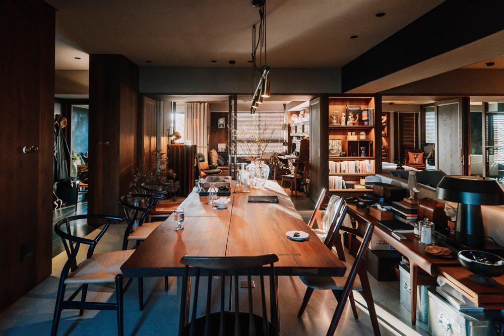 實見空間設計創辦人游思維的家!宛如現代沙龍的設計師自宅_01