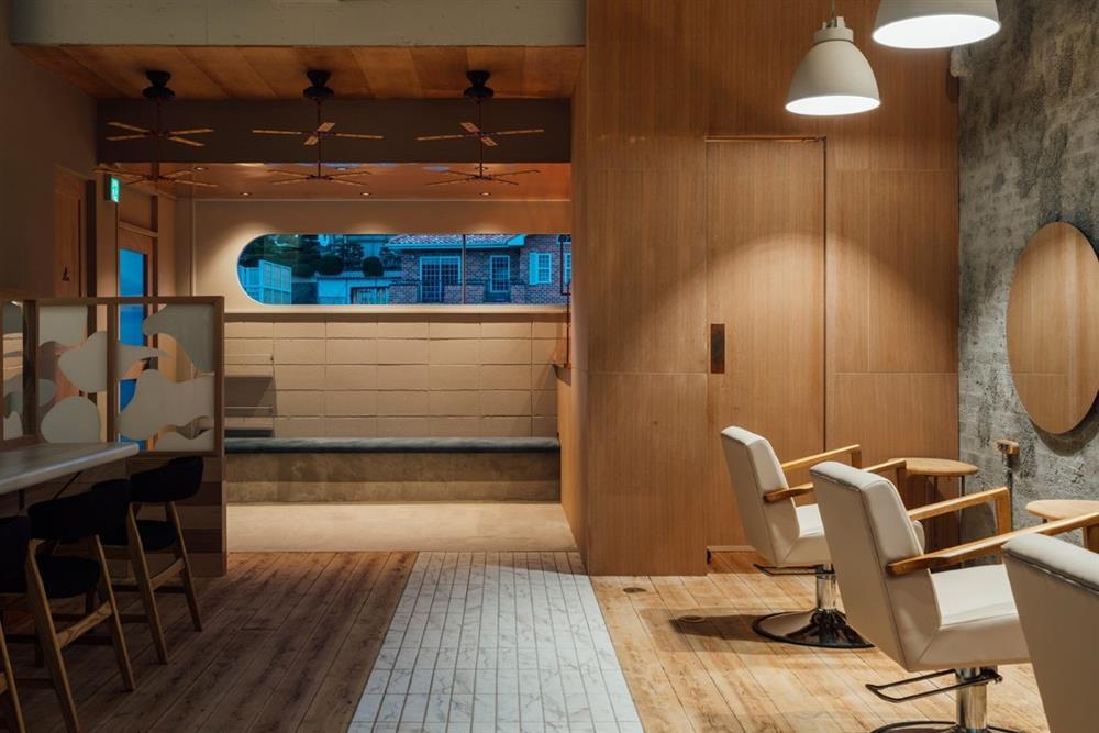 如《天空之城》的日本時尚髮廊!設計團隊FATHOM打造如飄浮飛船的沙龍空間9