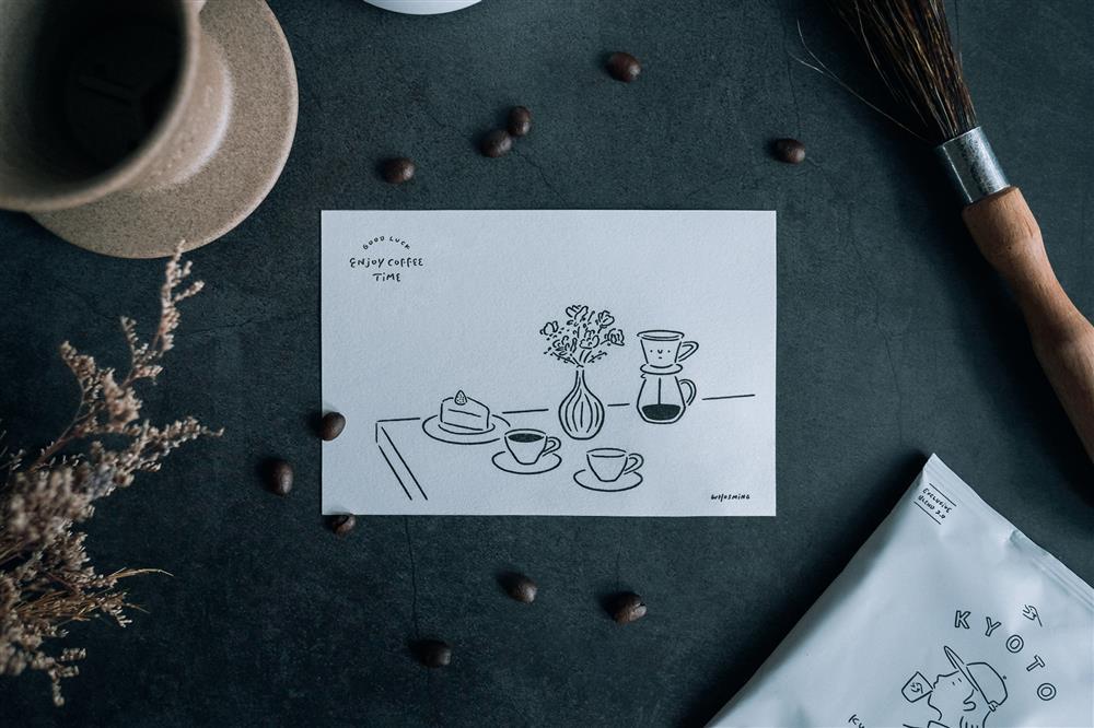台灣插畫家WHOSMiNG再攜手京都咖啡店KURASUDSCF5640