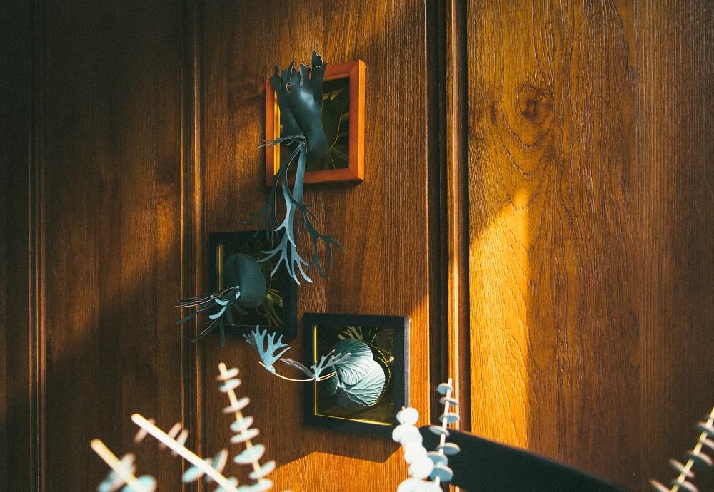 將皮革結合植物 YEYE葉葉打造獨家「香氛革植」鹿角蕨