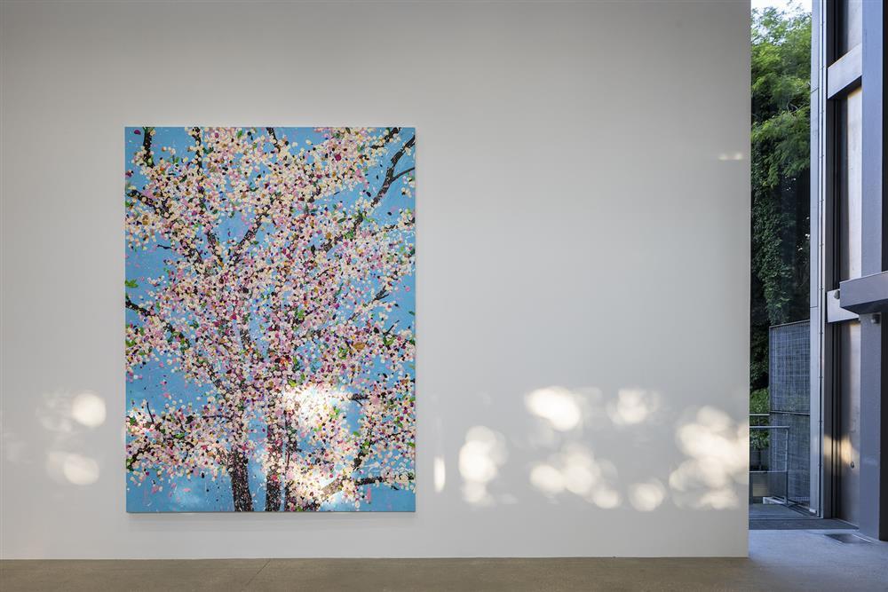 Damien Hirst《櫻花盛放》展覽
