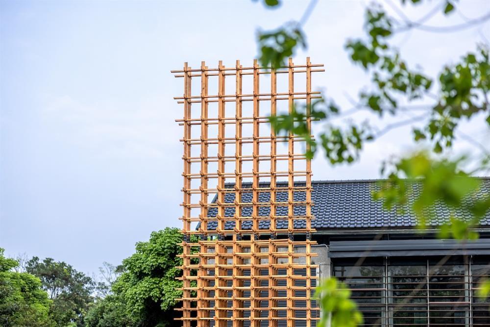 「魯班塔」宜蘭傳藝中心新地標!范承宗操刀以傳統工藝技法的數位演繹10