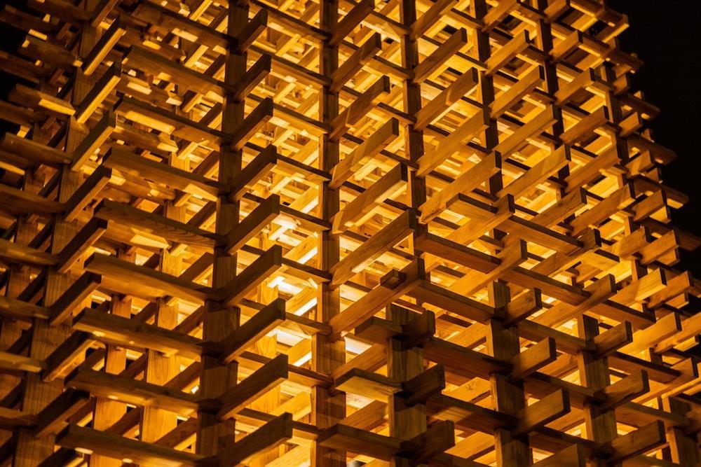 「魯班塔」宜蘭傳藝中心新地標!范承宗操刀以傳統工藝技法的數位演繹6
