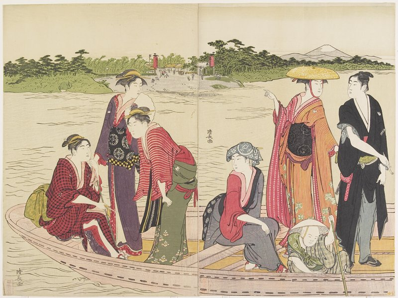Ferryboat_on_the_Rokugo_River_by_Torii_Kiyonaga