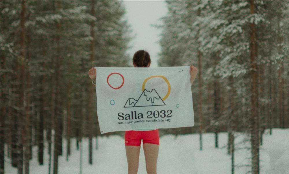 芬蘭salla2032夏季奧運地球暖化廣告