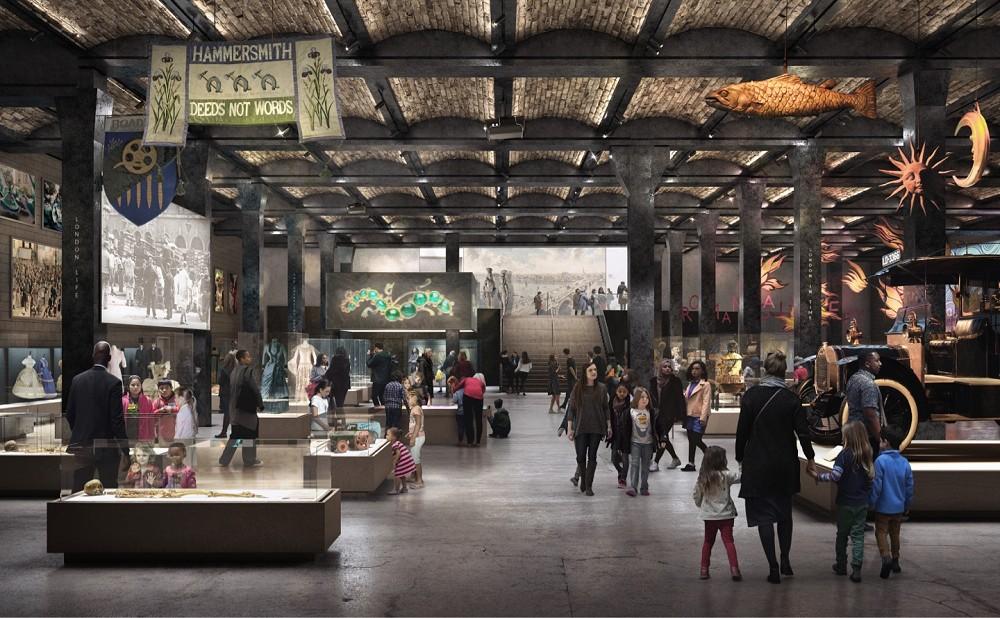倫敦博物館新館2024年啟用!老市場華麗變身英國首間24小博物館_08