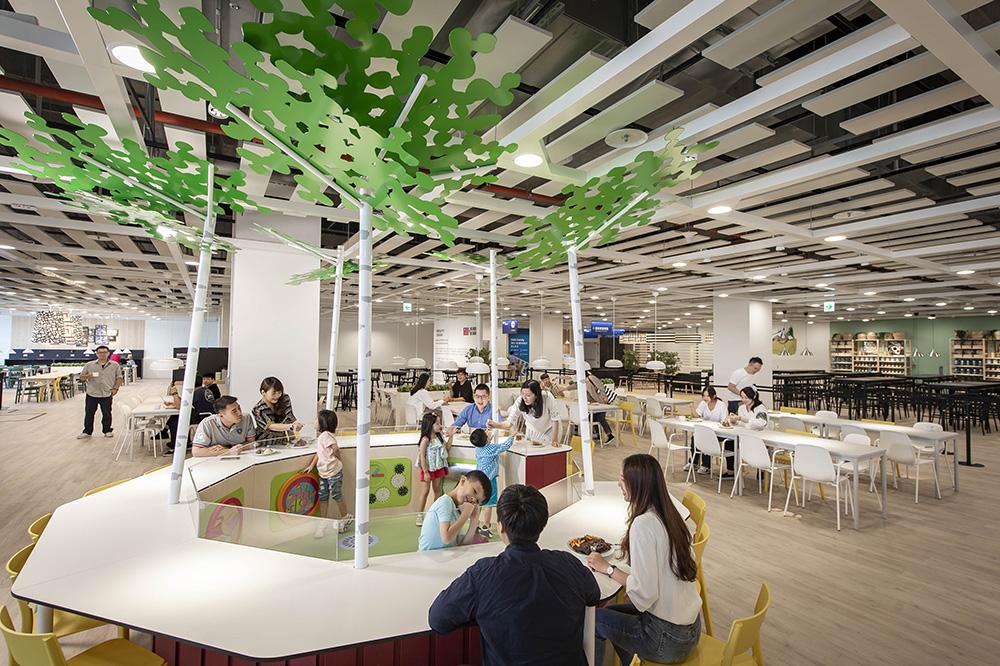 IKEA桃園店-全台最大親子景觀餐廳