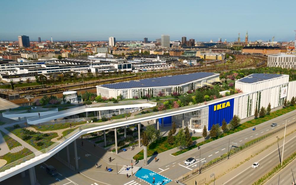 哥本哈根IKEA空中公園2