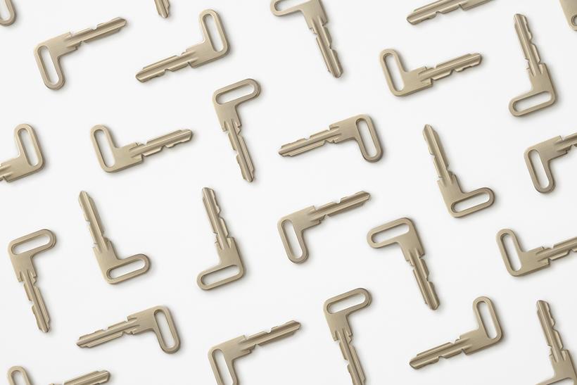 nendo打造L型鑰匙