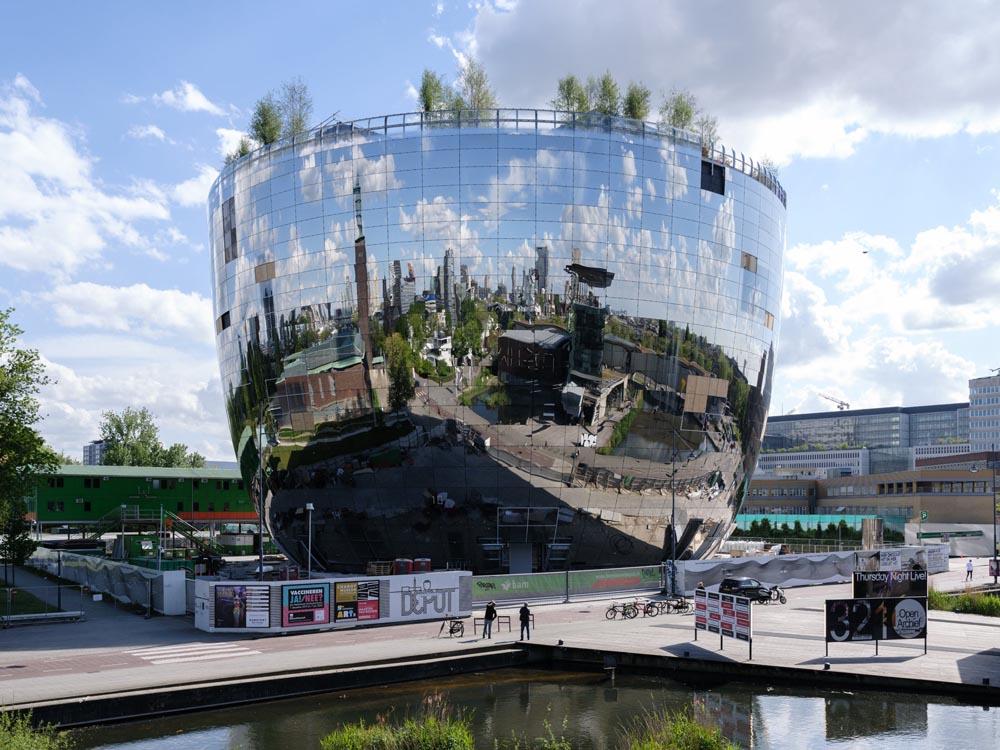 MVRDV打造荷蘭博伊曼斯范伯寧恩美術館全新鏡面花盆建築