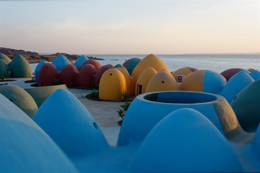 伊朗霍爾木茲島「Majara」夢幻聚落6
