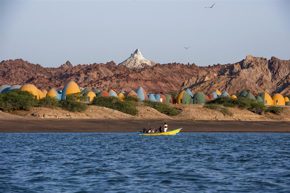 伊朗霍爾木茲島「Majara」夢幻聚落1