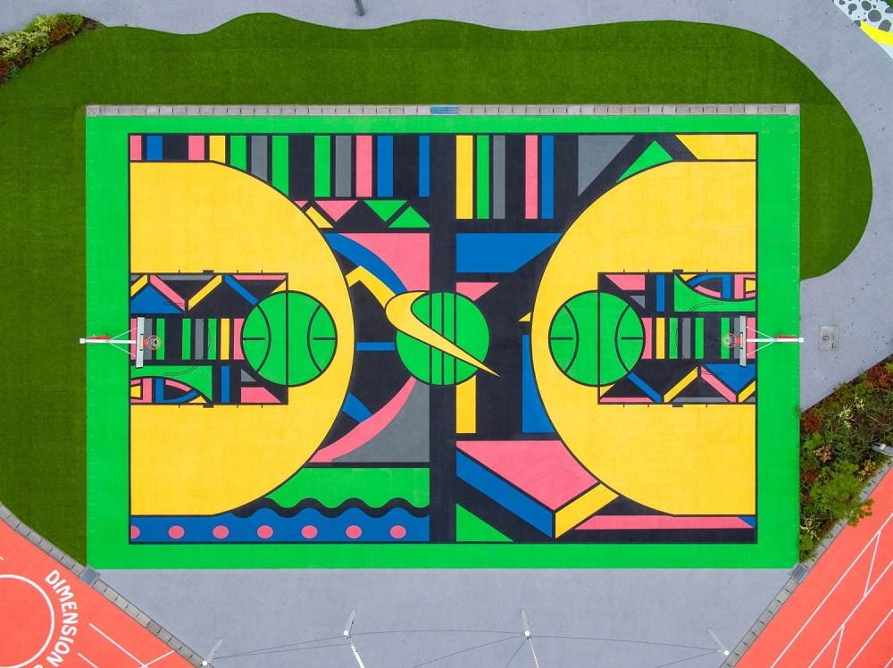 NIKE TOKYO SPORT PLAYGROUND SPORT x ART運動公園