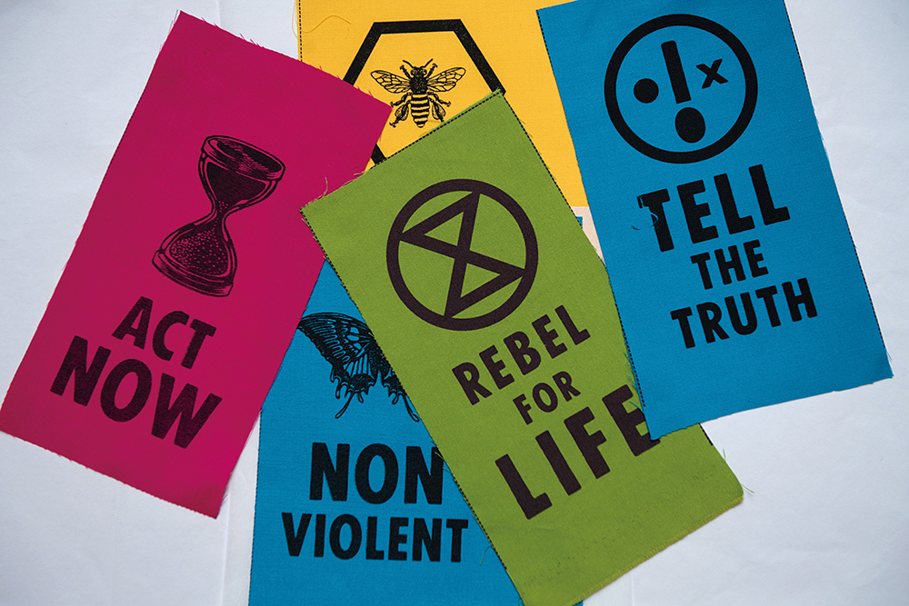 New Extinction Rebellion acquisitions go on display at the V&A. Photo by Chris J RatcliffeGetty Images for The V&A (4)