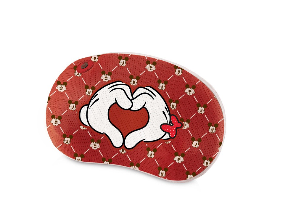 OSIM暖摩枕-米奇限定款-愛心米奇款-限量優惠價NTD2,980元(原價NTD3,680元)