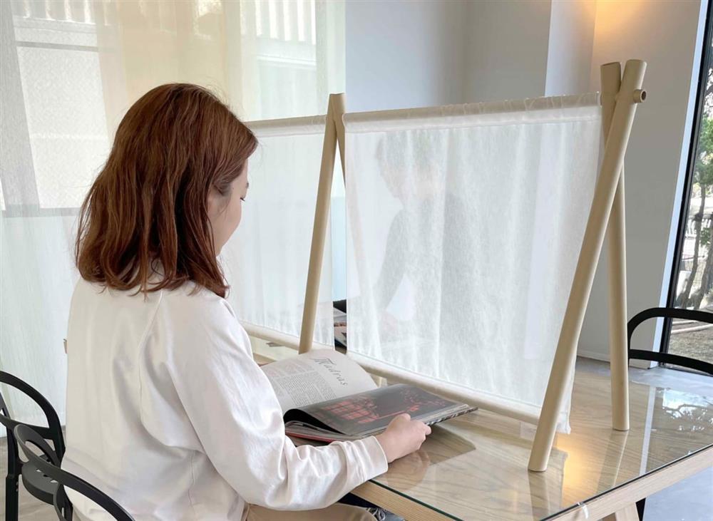 日本建築大師坂茂設計布料隔板02