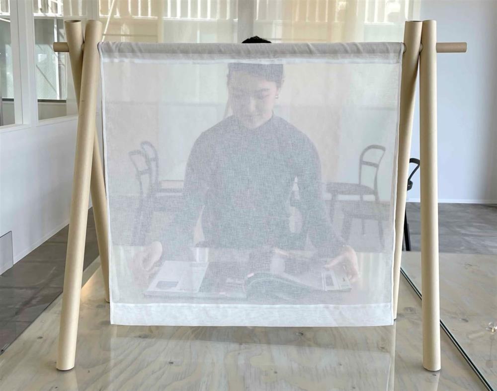 日本建築大師坂茂設計布料隔板01