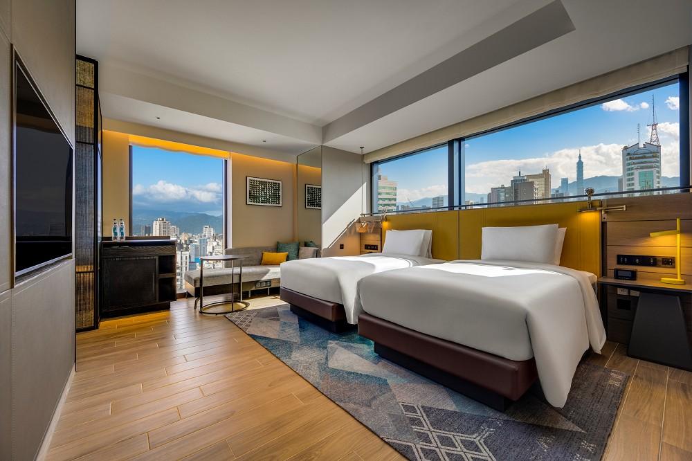 「台北時代寓所」希爾頓集團亞太地區第一家Tapestry精選酒店