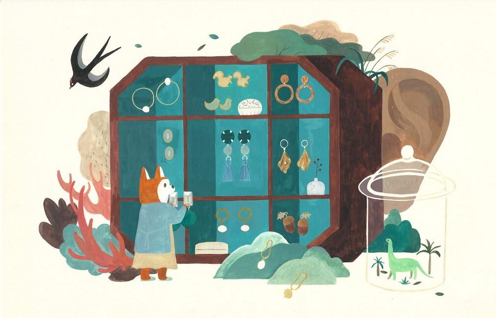 用畫筆溫柔回應世界 !台灣插畫家灰塵魚筆下宛如繁星若塵的美麗風景_01