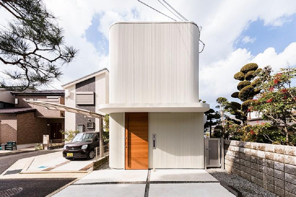 日本療癒小宅設計!大阪「melt」綠意樹木包圍的木質調小家庭空間_01