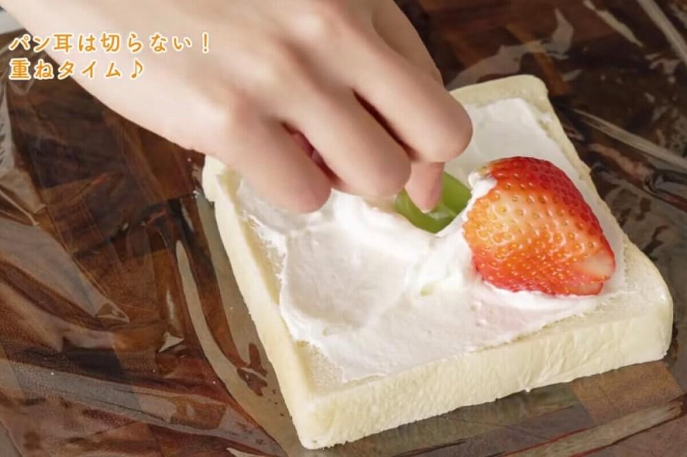 水果花三明治做法03