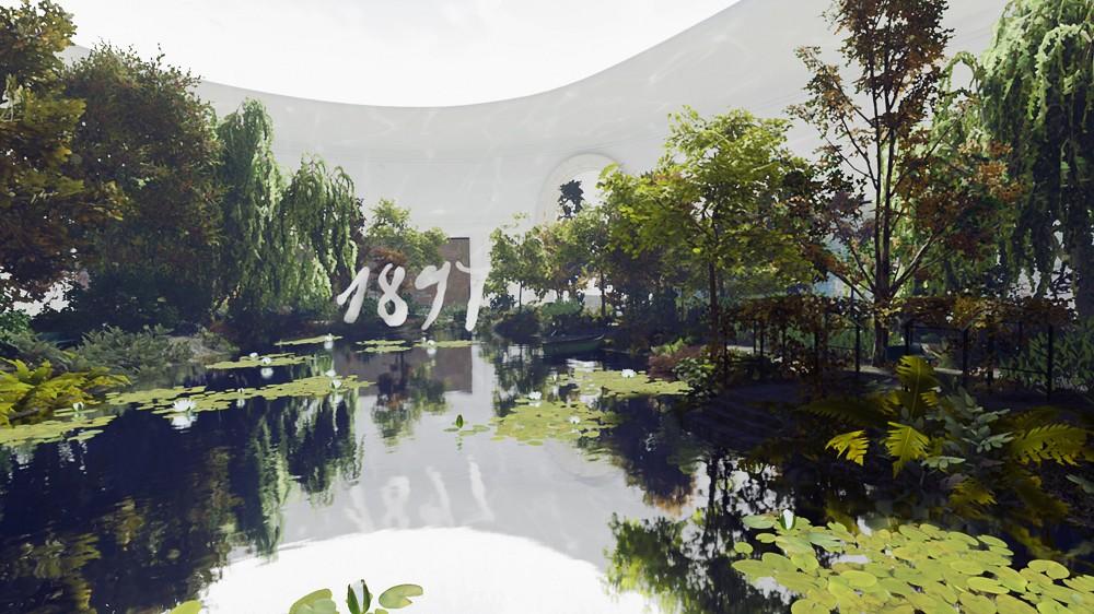莫內睡蓮池