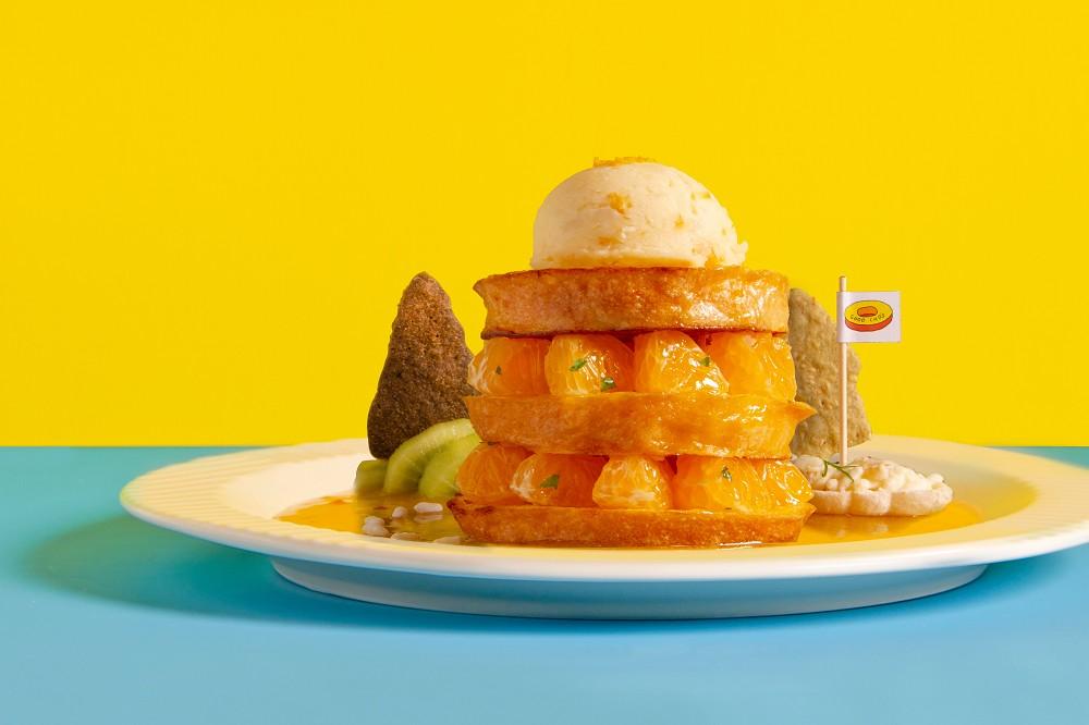 將台灣山海島嶼化作美味鬆餅!好丘「小島鬆餅店」開張   集結東茶島、南蕉島等四款限定甜點