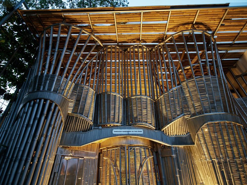 如花園般的夢幻共享建築!印尼Guha結合圖書館、牙科診所、住宅、設計事務所的綠意空間_07