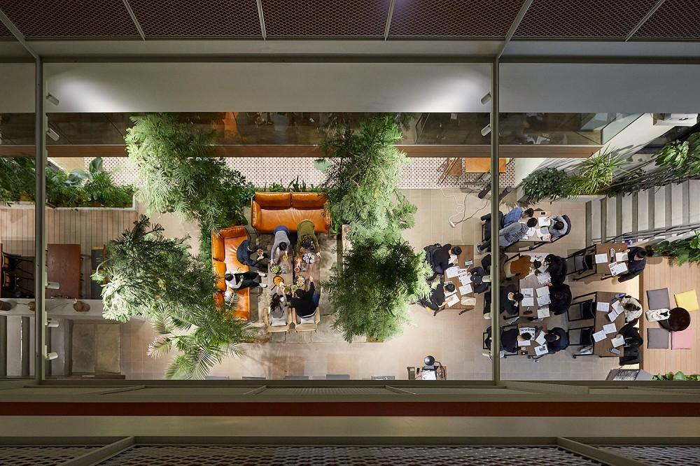 租屋族也能享受的高質感生活!韓國共享公寓「樹屋Tree house」綠意中庭花園、大片落地窗環繞
