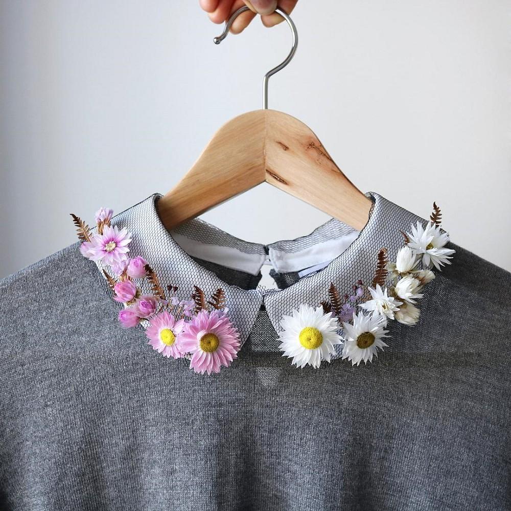 美得令人屏息!英國刺繡藝術家Olga Prinku將花草繡成美麗圖騰、抱枕燈罩全成藝術品_10