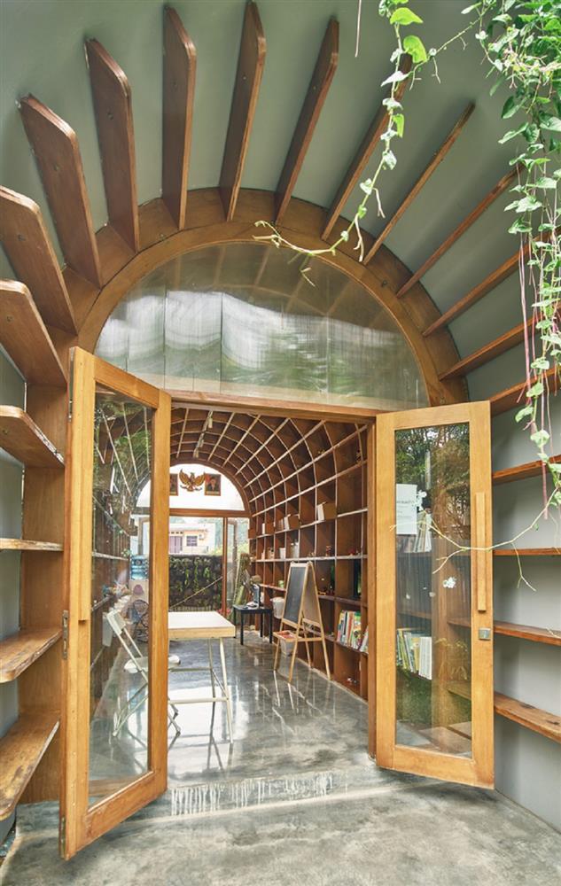 如花園般的夢幻共享建築!印尼Guha結合圖書館、牙科診所、住宅、設計事務所的綠意空間_12