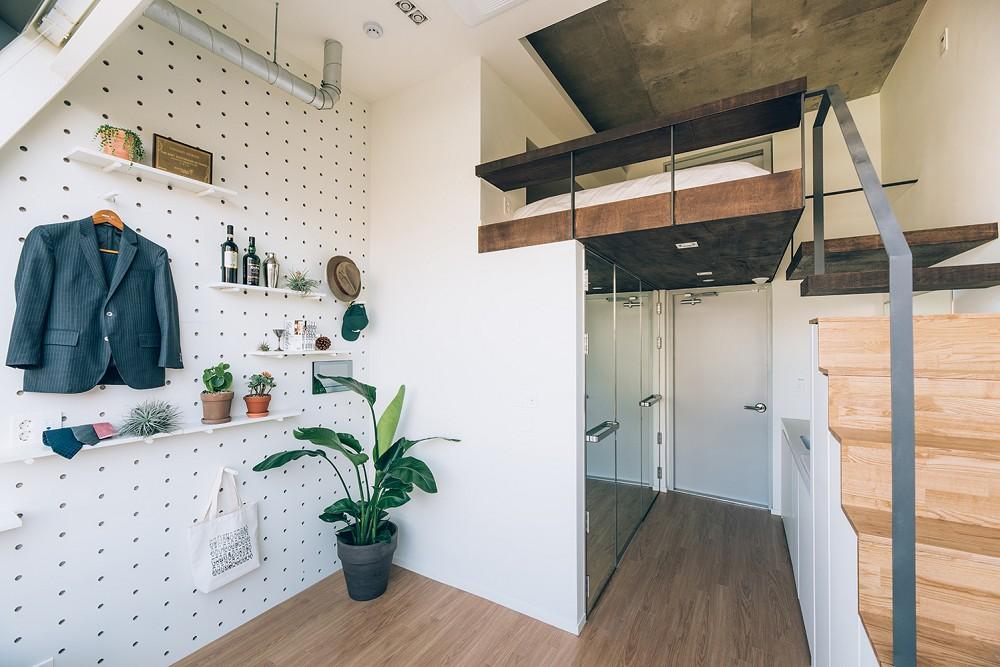 租屋族也能享受的高質感生活!韓國共享公寓「樹屋Tree house」綠意中庭花園、大片落地窗環繞_03