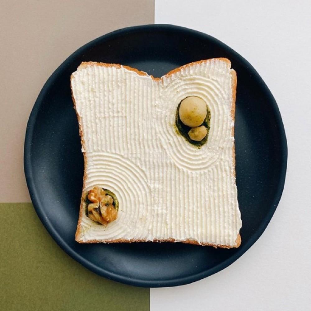 美到捨不得吃!水果花三明治、Manami Sasaki打造猶如日式禪宗庭院等吐司做成的創意早餐_10