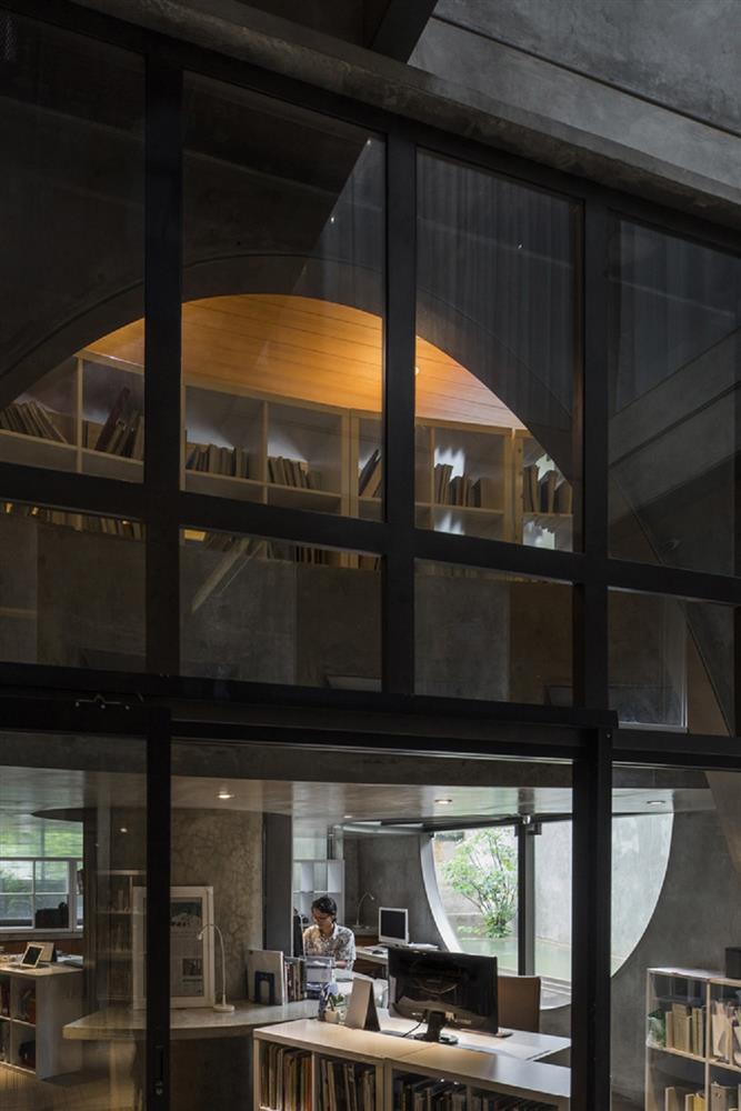 如花園般的夢幻共享建築!印尼Guha結合圖書館、牙科診所、住宅、設計事務所的綠意空間_22