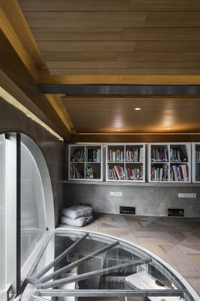 如花園般的夢幻共享建築!印尼Guha結合圖書館、牙科診所、住宅、設計事務所的綠意空間_16