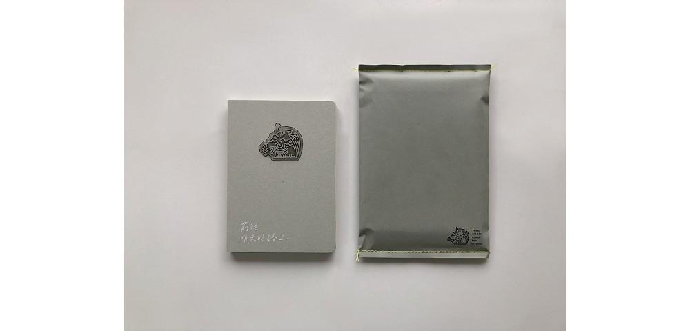煤灰擴香石環保筆記本