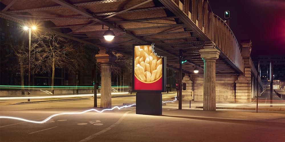 法國麥當勞創意廣告