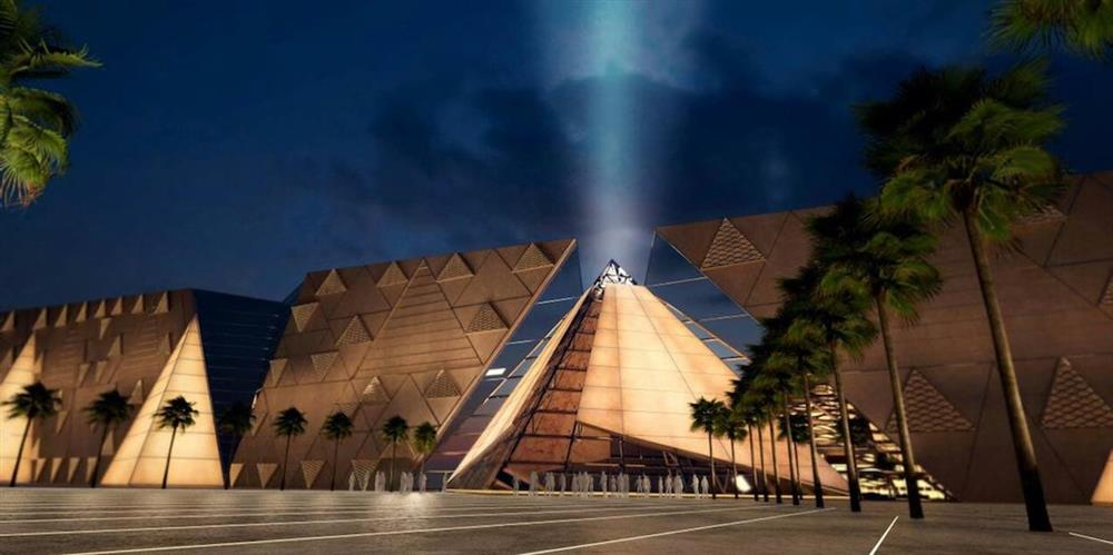 Pyramid-wall-at-GEM-grand-Egyptian-Museum