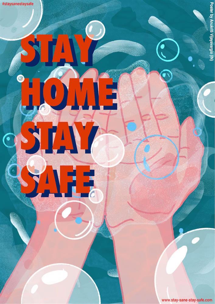 STAY SANE STAY SAFE14
