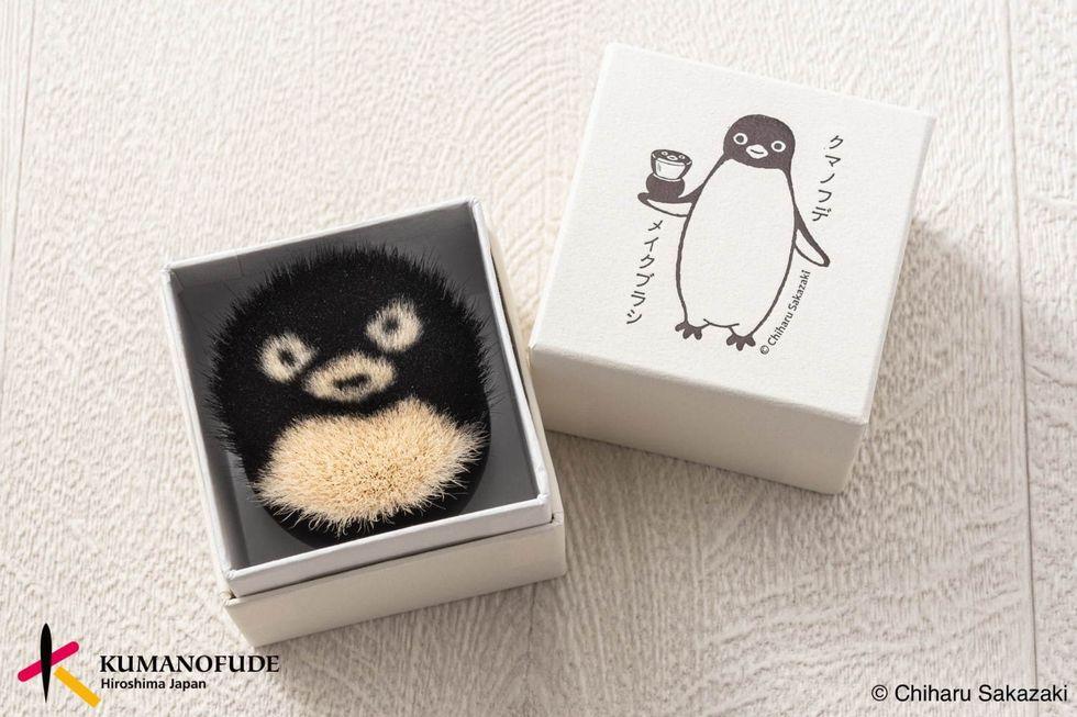 SUICA吉祥物化身企鵝刷具!5