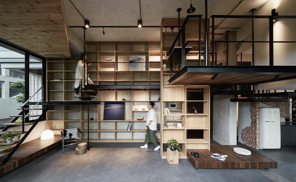 「樹屋之間,盒裡盒外」重塑住宅空間的想像15