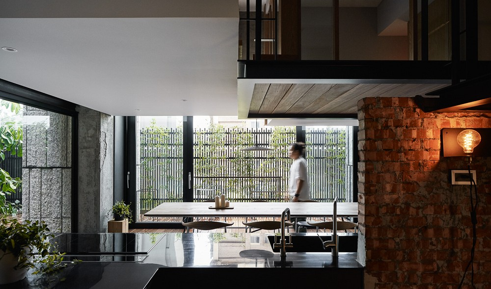 「樹屋之間,盒裡盒外」重塑住宅空間的想像2
