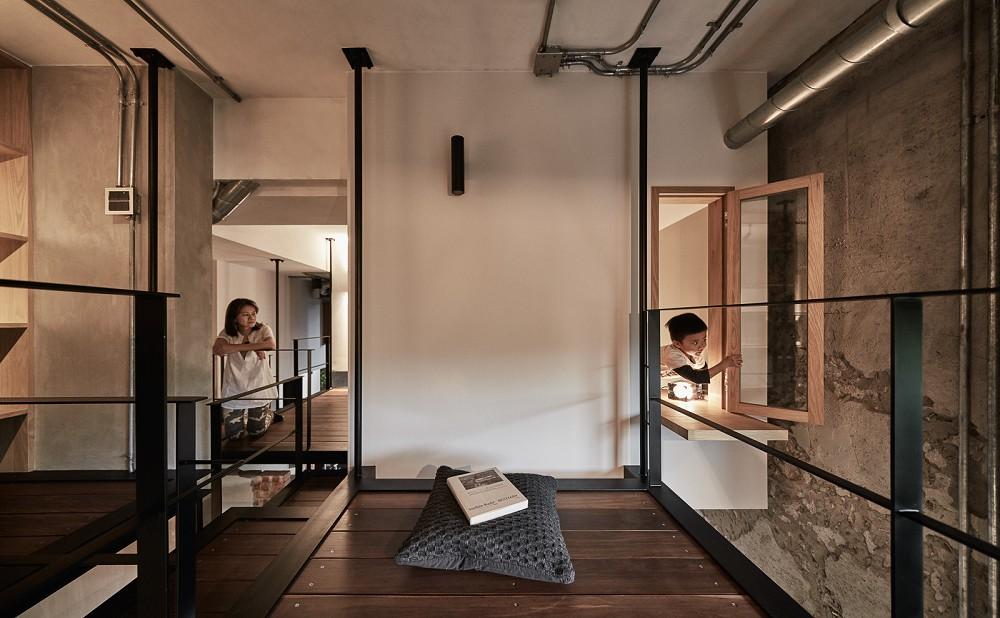 「樹屋之間,盒裡盒外」重塑住宅空間的想像11