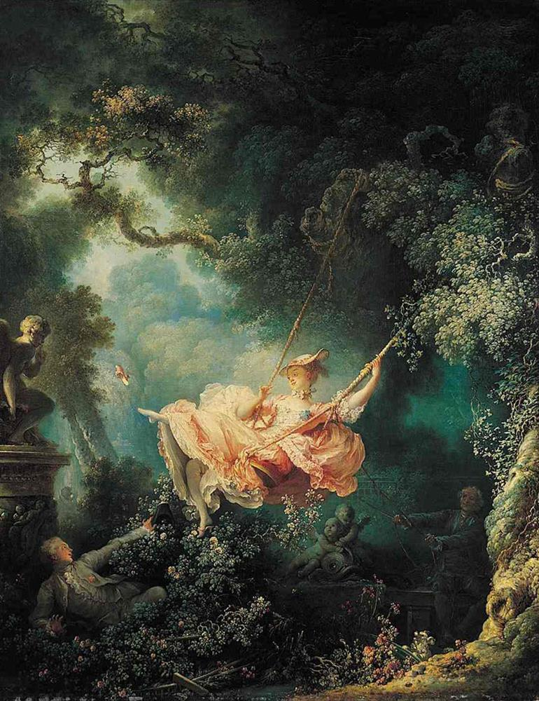 The Great Gatsby.The Swing by Fragonard.C