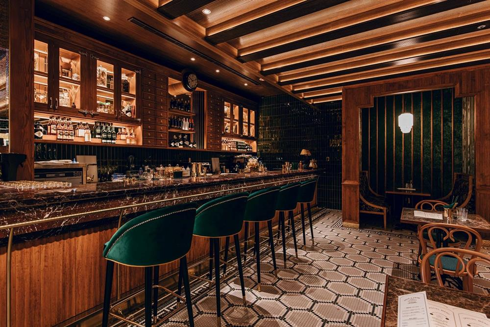 台北「心潮飯店」最潮台味炒飯餐酒館!在Art Deco風格空間品味時髦台菜配TCRC調酒