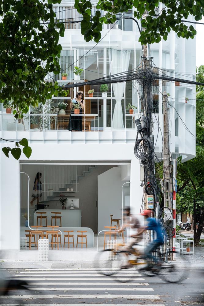 越南三代同堂住宅與咖啡廳Tiam