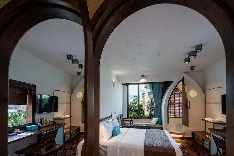 越南峴港Hotel le Bouton自然感旅宿