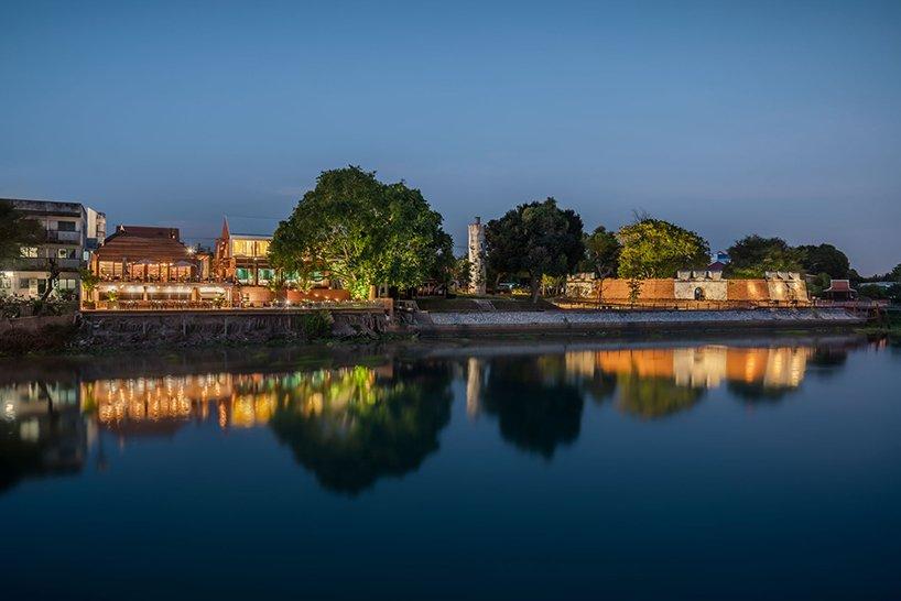 泰國大城區酒店!河畔、堡壘旁的紅磚迷人旅宿BAAN POMPHET_12