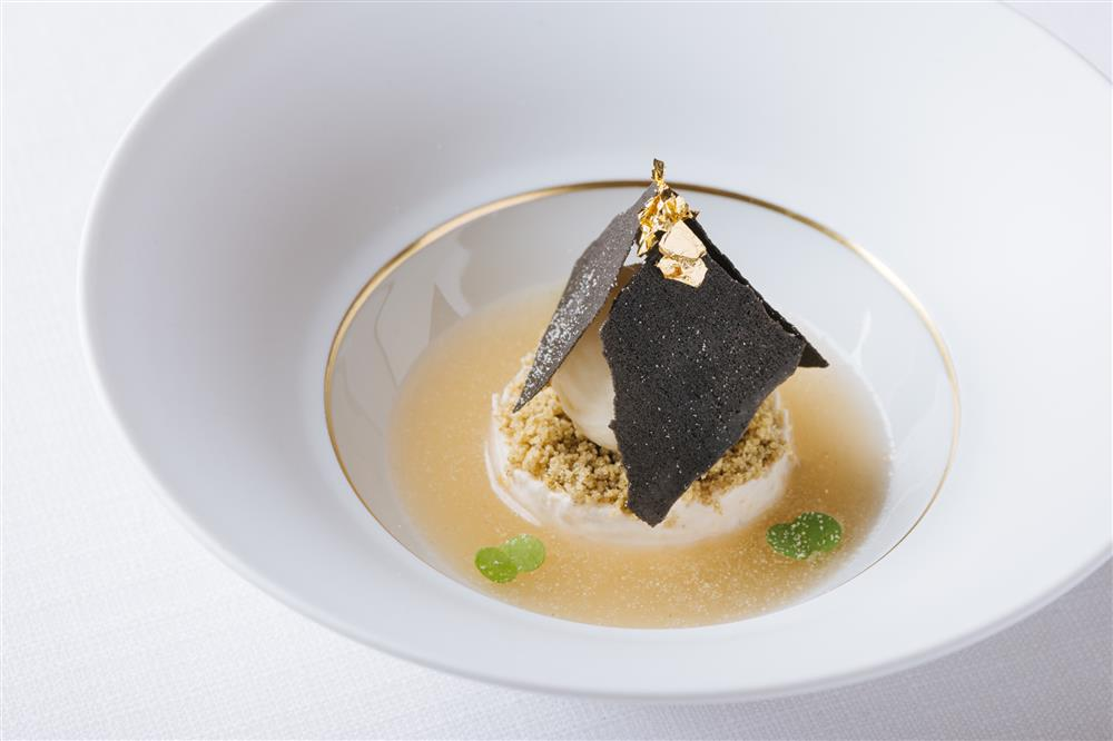 batch_扉泥墨糬 Peanut Butter Rice Pudding, Mung Bean Mochi Ice Cream, Black Sesame Tuile